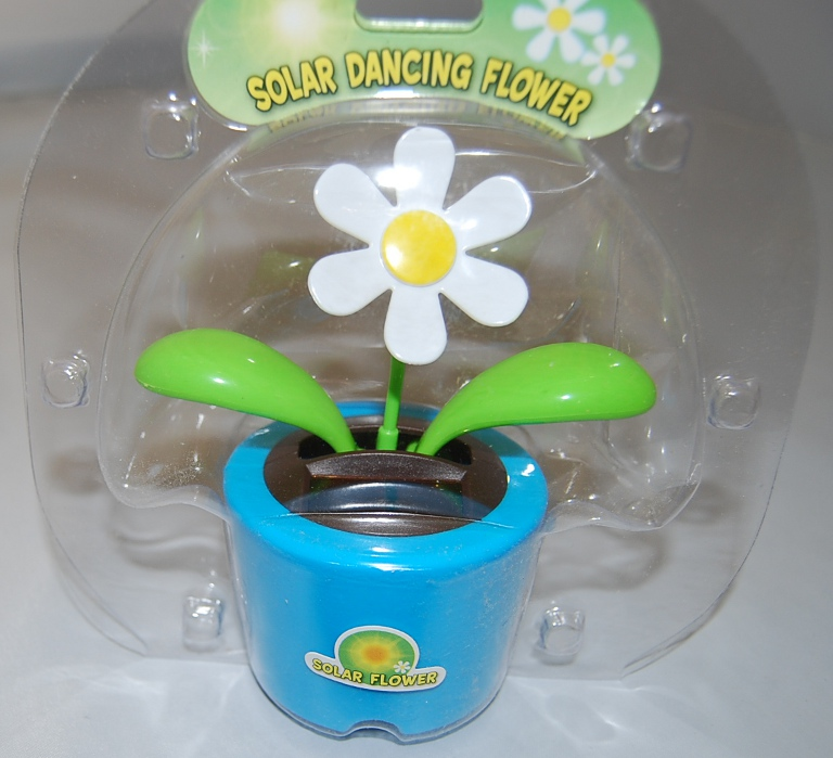 Blue Solar Dancing Flower/