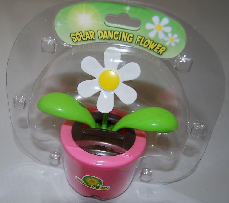 Pink Solar Dancing Flower/