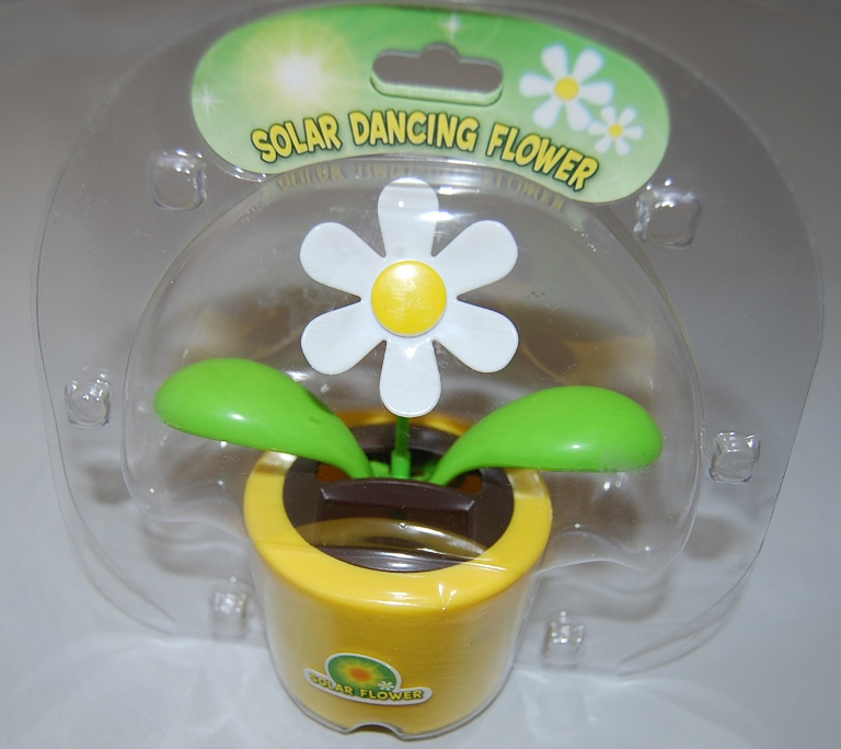 Yellow Solar Dancing Flower/